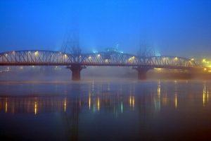 Hawthorne Bridge Before Dawn