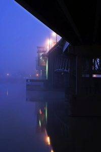 Morrison Bridge Before Dawn 1