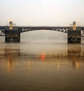 Burnside Bridge in the Fog
