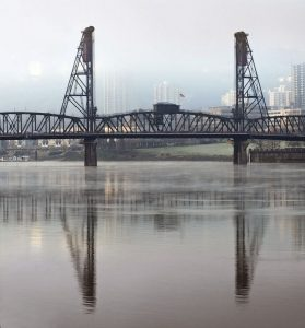 Hawthorne Bridge at Dawn - Portland, OR